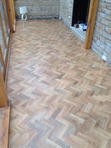 Amtico Signature Oak Parquet Flooring Winder Carpets And